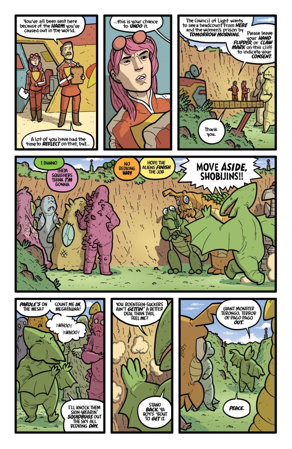 KAIJUMAXV6-1-MARKETING-08 ComicList Previews: KAIJUMAX SEASON SIX #1