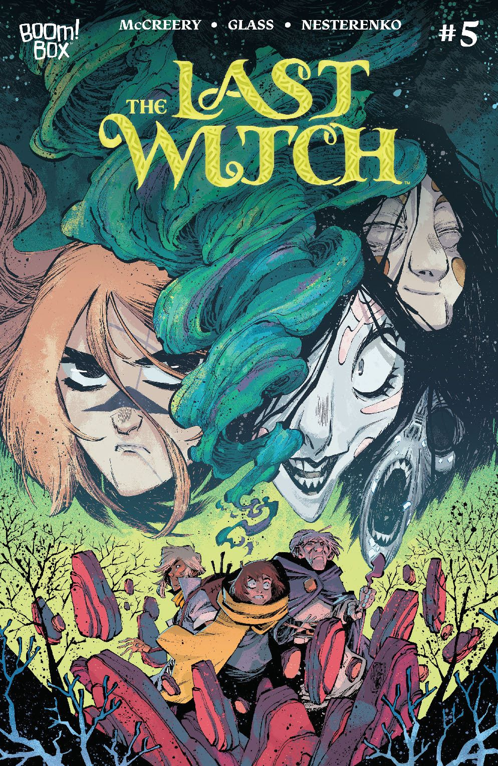 LastWitch_005_Cover_B_Variant ComicList Previews: THE LAST WITCH #5 (OF 5)