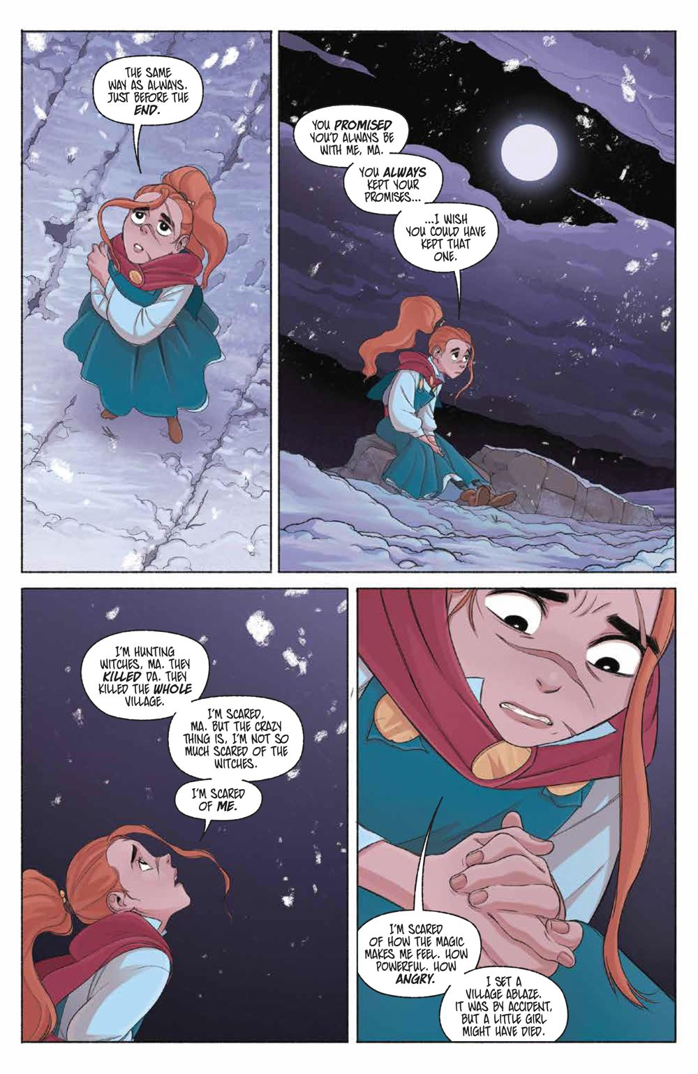LastWitch_005_PRESS_4 ComicList Previews: THE LAST WITCH #5 (OF 5)