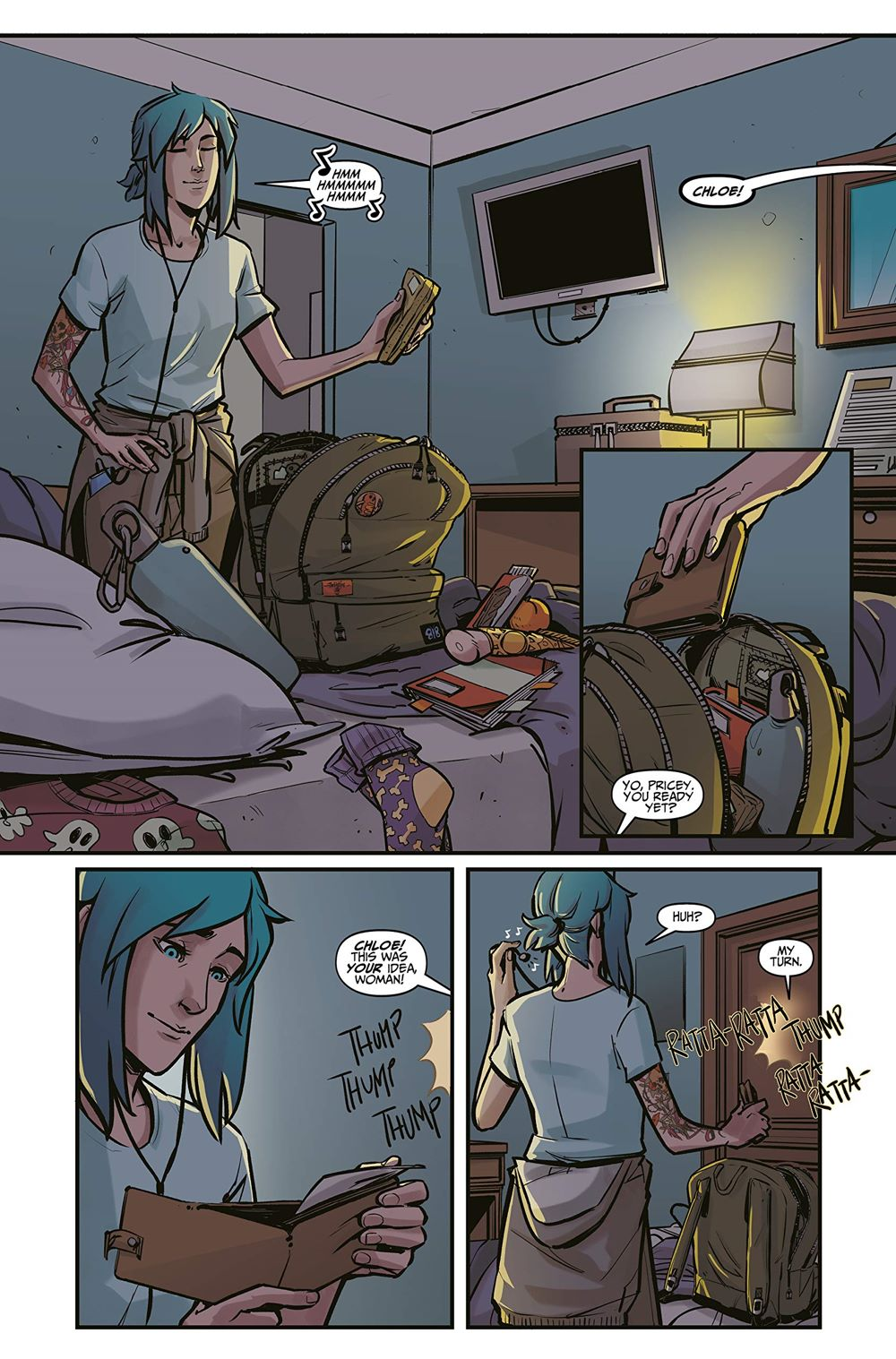 Life-is-Strange-4-spread-1 ComicList Previews: LIFE IS STRANGE VOLUME 4 PARTNERS IN TIME TRACKS TP