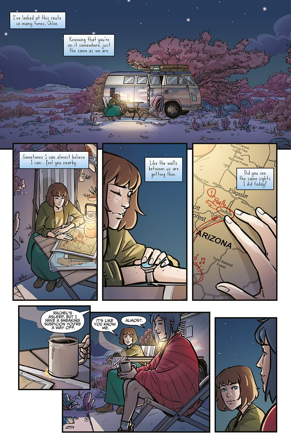 Life-is-Strange-4-spread-3 ComicList Previews: LIFE IS STRANGE VOLUME 4 PARTNERS IN TIME TRACKS TP