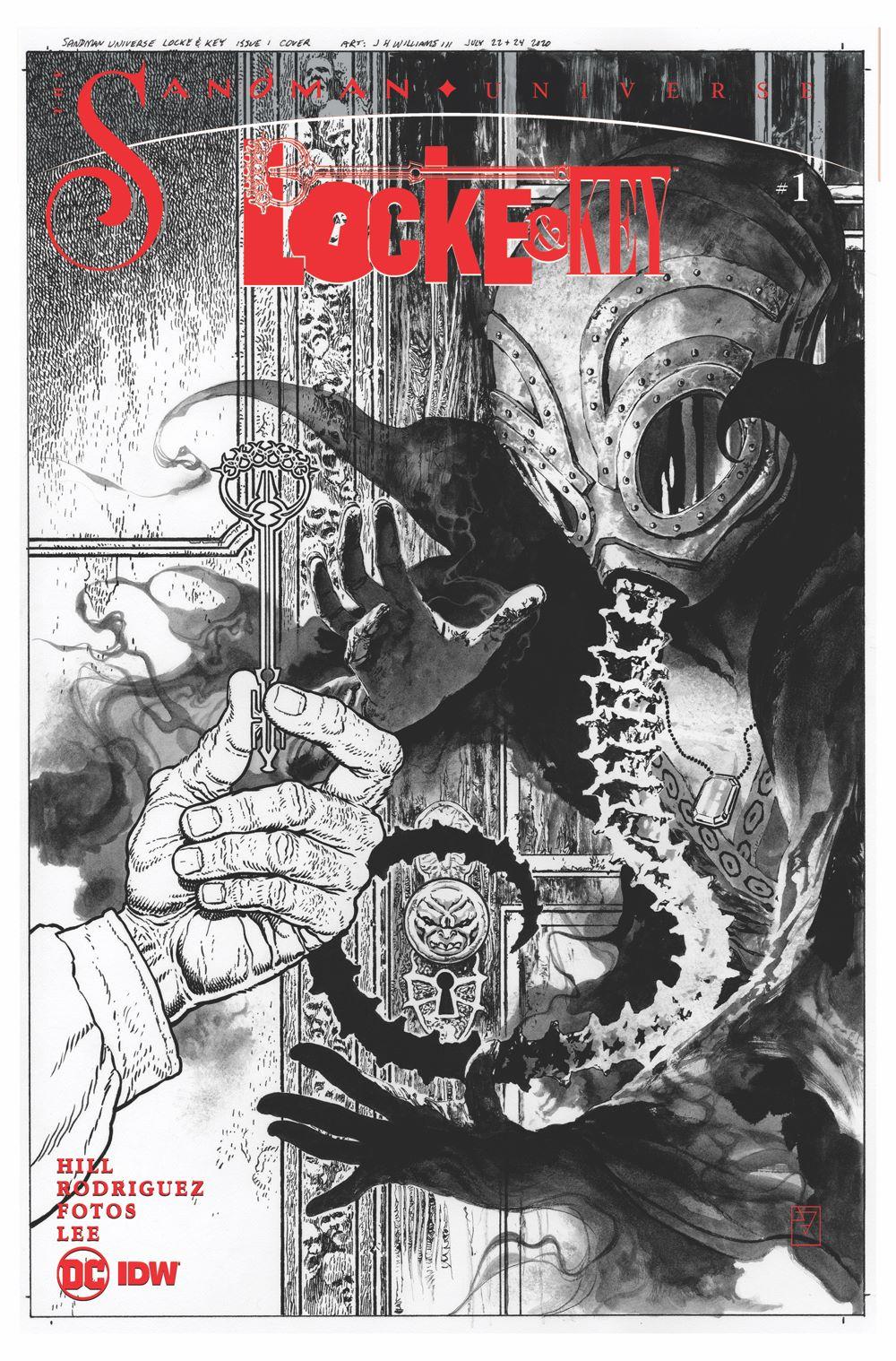 LnK-Sandma-5 ComicList: IDW Publishing New Releases for 04/14/2021
