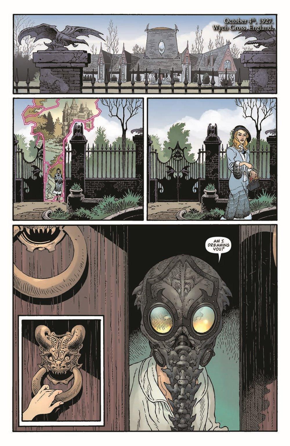 LnK-Sandman01_pr-6 ComicList Previews: LOCKE AND KEY THE SANDMAN UNIVERSE HELL AND GONE #1