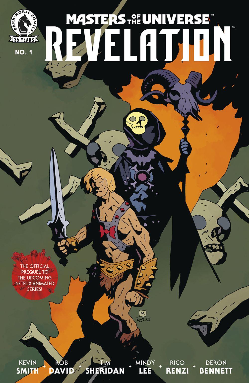 MOTUREV_i1_CVR_4x6_VAR_B_MIGNOLA_SOL Dark Horse Comics July 2021 Solicitations