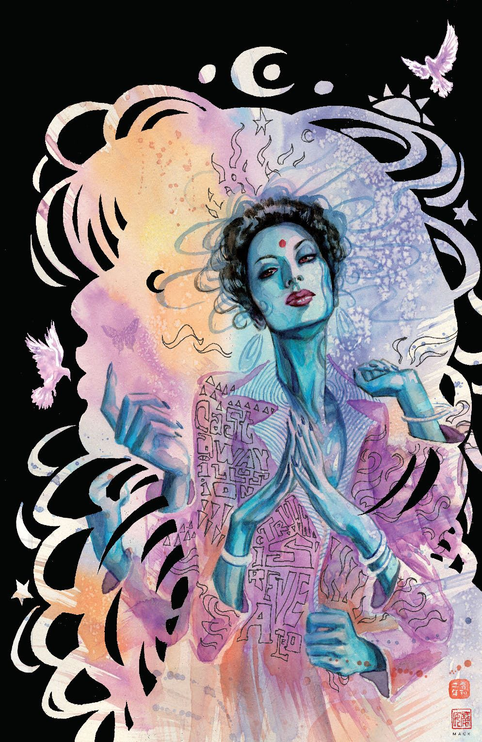 ManyDeathsLailaStarr_001_Cover_E_BlackDeathFoil ComicList Previews: THE MANY DEATHS OF LAILA STARR #1