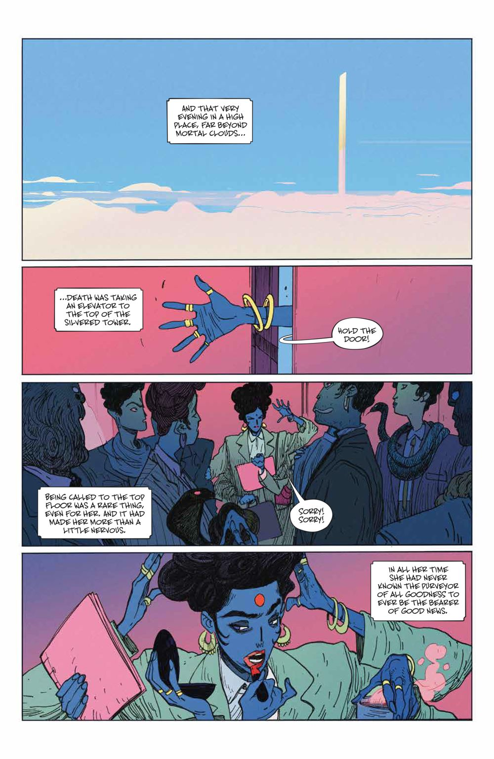 ManyDeathsLailaStarr_001_PRESS_6 ComicList Previews: THE MANY DEATHS OF LAILA STARR #1