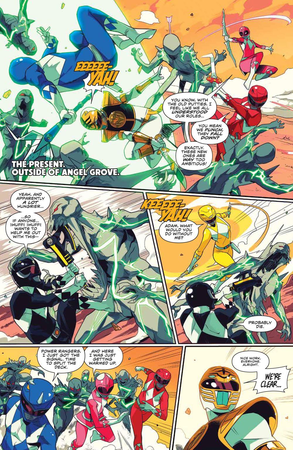 MightyMorphin_006_PRESS_7 ComicList Previews: MIGHTY MORPHIN #6