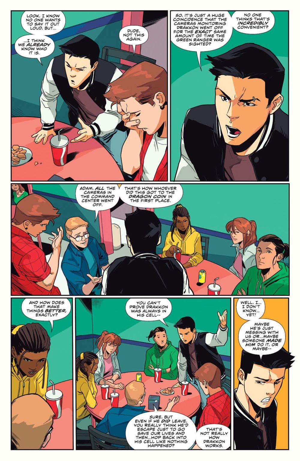 MightyMorphin_v1_SC_PRESS_13 ComicList Previews: MIGHTY MORPHIN VOLUME 1 TP