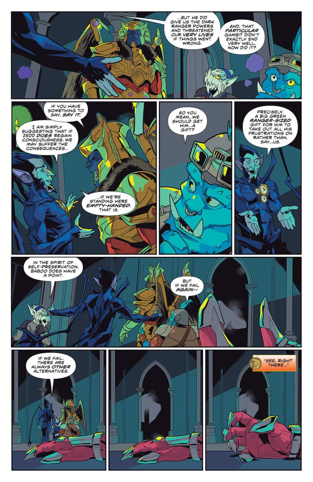 MightyMorphin_v1_SC_PRESS_16 ComicList Previews: MIGHTY MORPHIN VOLUME 1 TP