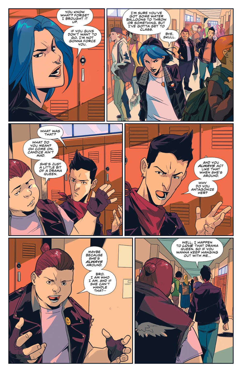 MightyMorphin_v1_SC_PRESS_20 ComicList Previews: MIGHTY MORPHIN VOLUME 1 TP