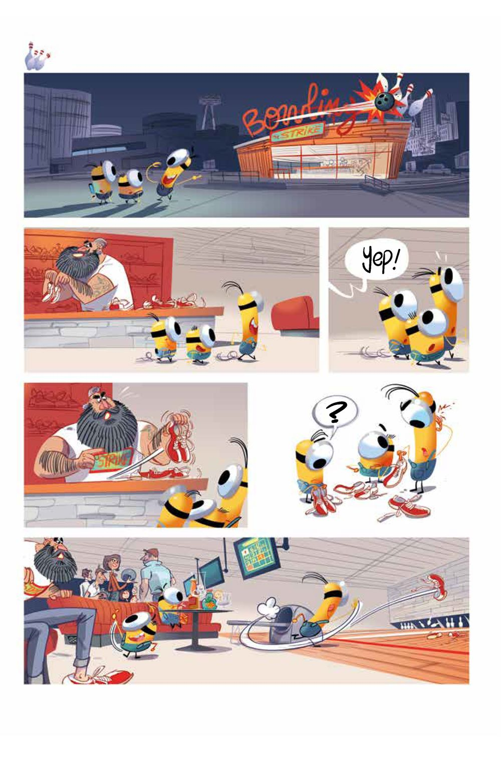 Minions_5.2_Sports_Intt__Page_1 ComicList Previews: MINIONS VOLUME 5 SPORTS #2