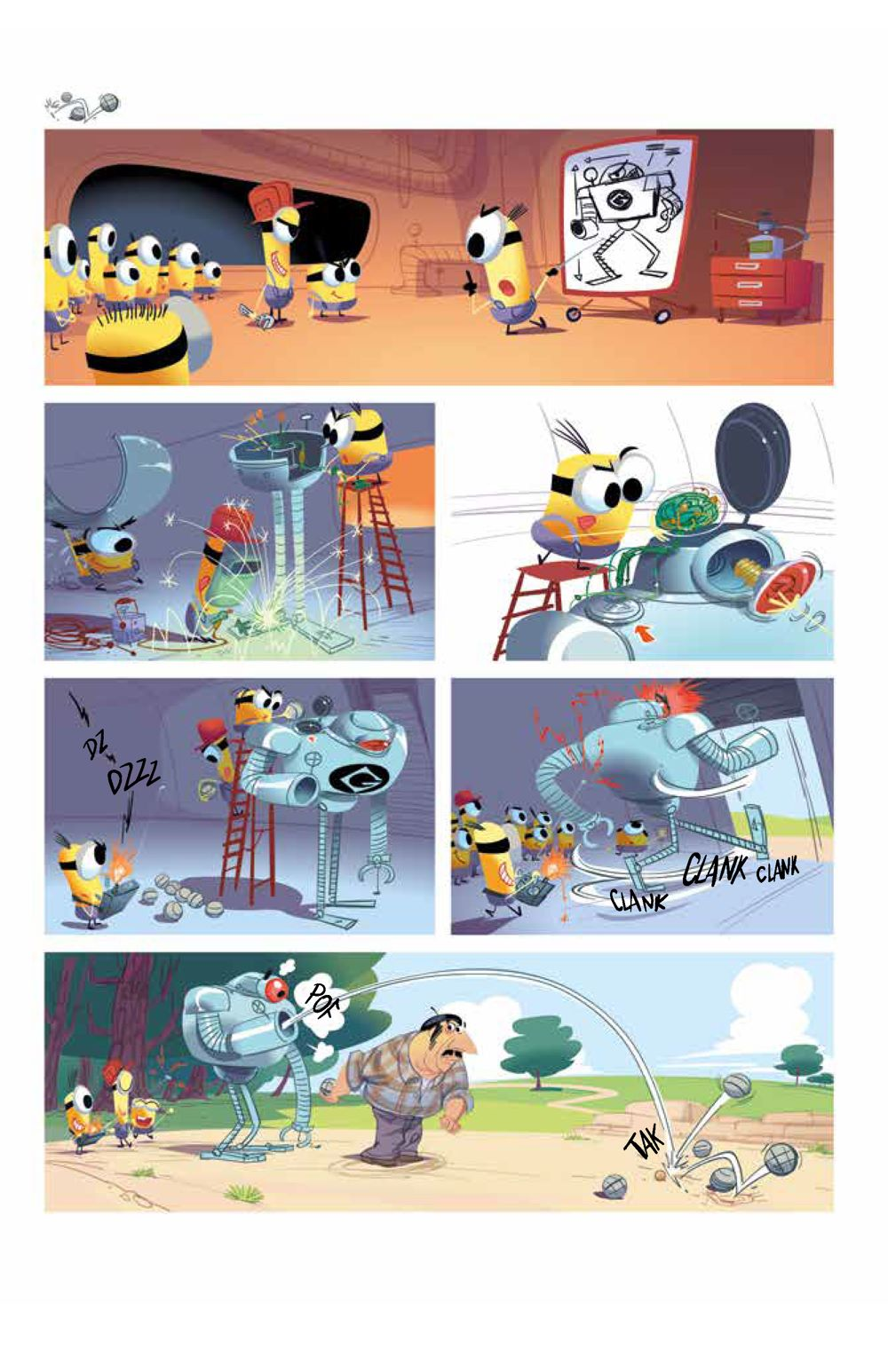 Minions_5.2_Sports_Intt__Page_5 ComicList Previews: MINIONS VOLUME 5 SPORTS #2