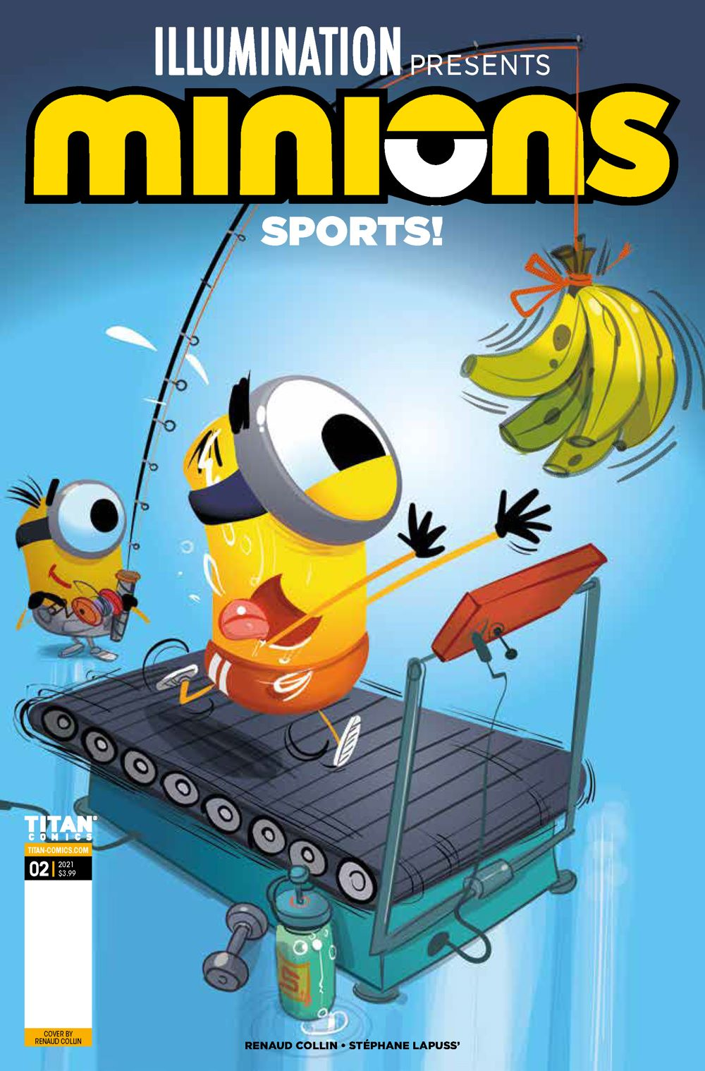 Minions_Sports2_00_Cover ComicList Previews: MINIONS VOLUME 5 SPORTS #2