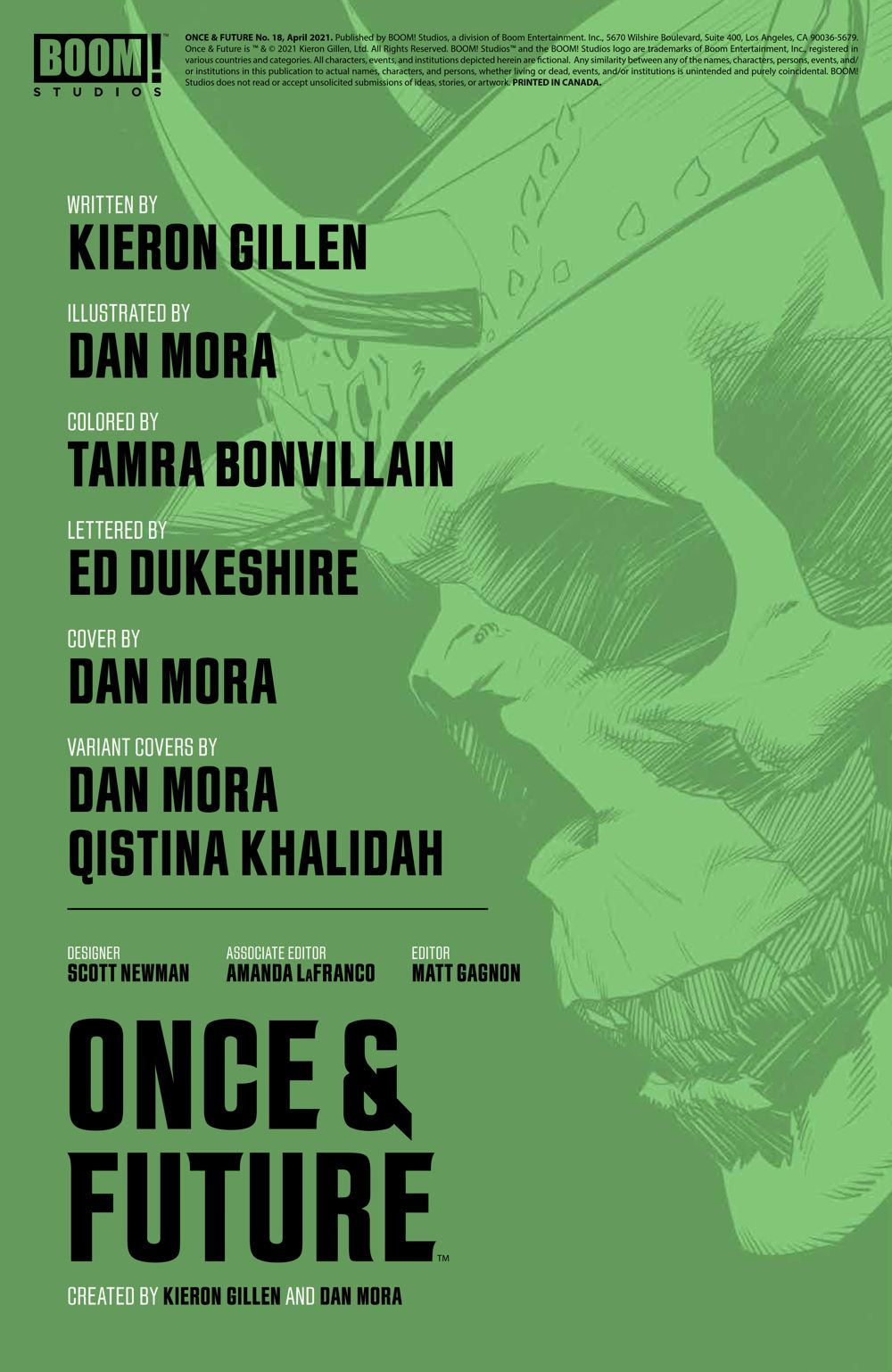 OnceFuture_018_PRESS_2 ComicList Previews: ONCE AND FUTURE #18