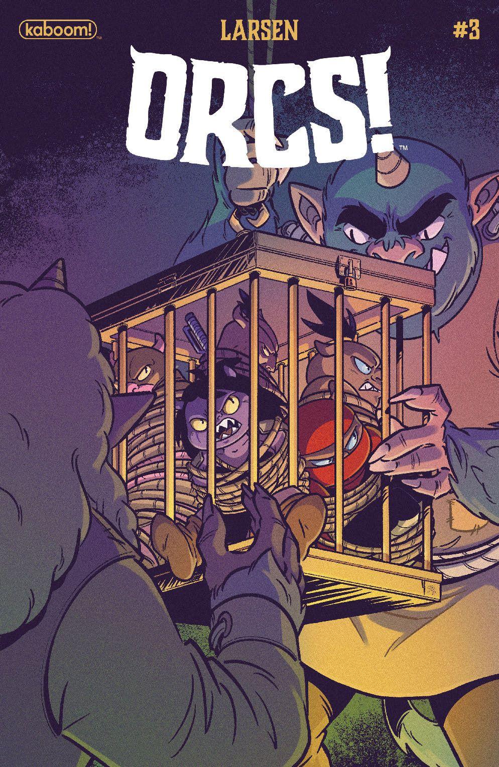 Orcs_003_Cover_B_Variant ComicList Previews: ORCS #3 (OF 5)