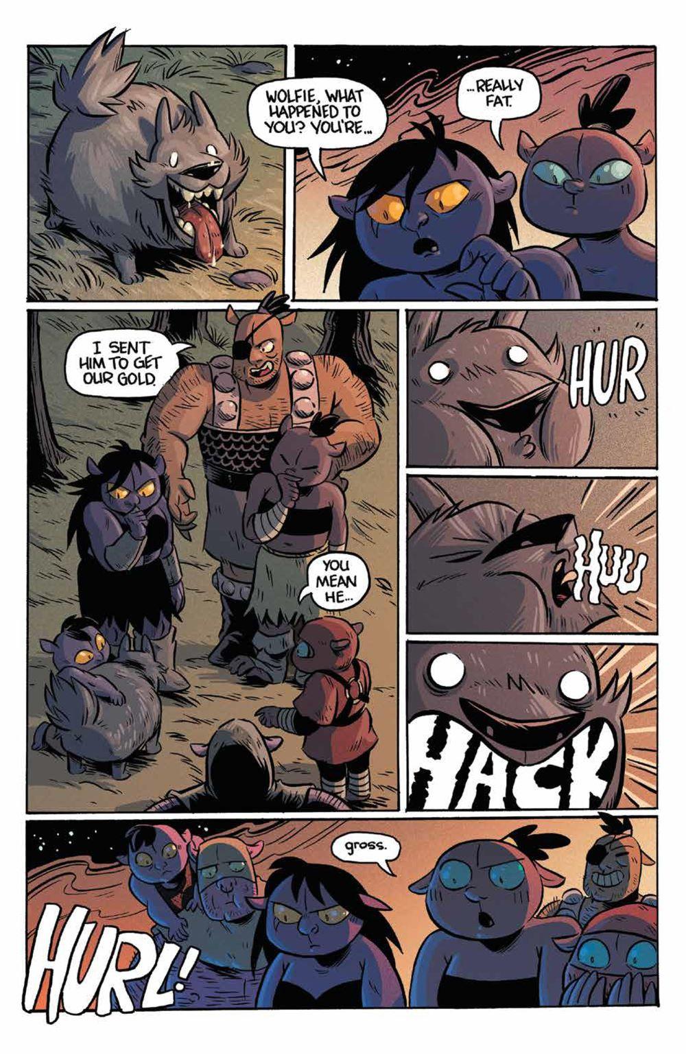Orcs_003_PRESS_4 ComicList Previews: ORCS #3 (OF 5)