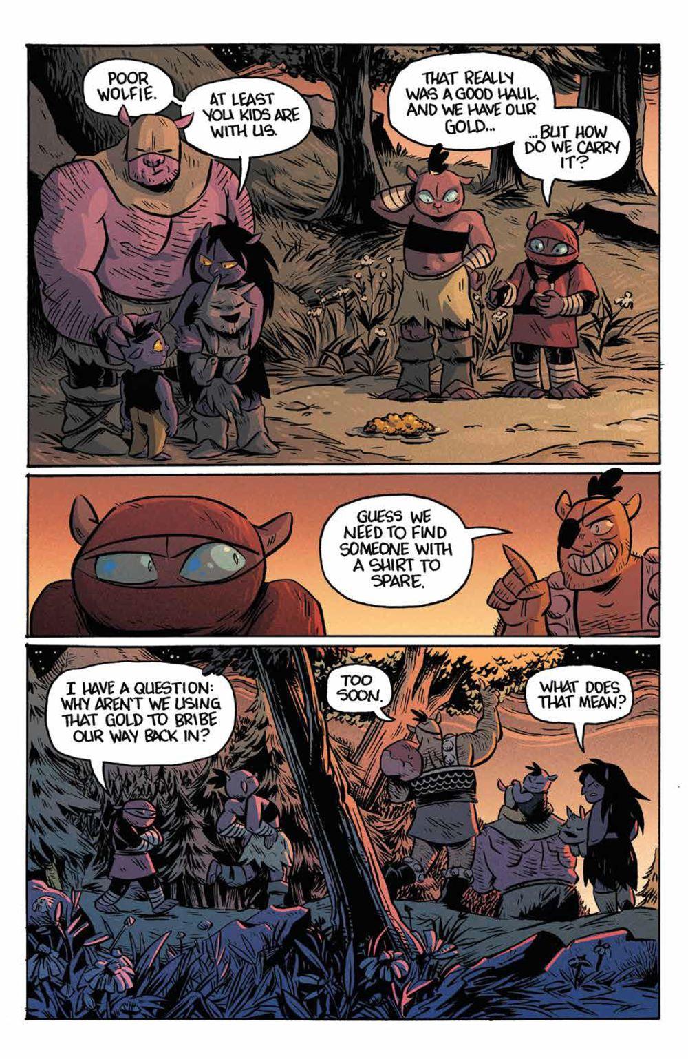 Orcs_003_PRESS_5 ComicList Previews: ORCS #3 (OF 5)