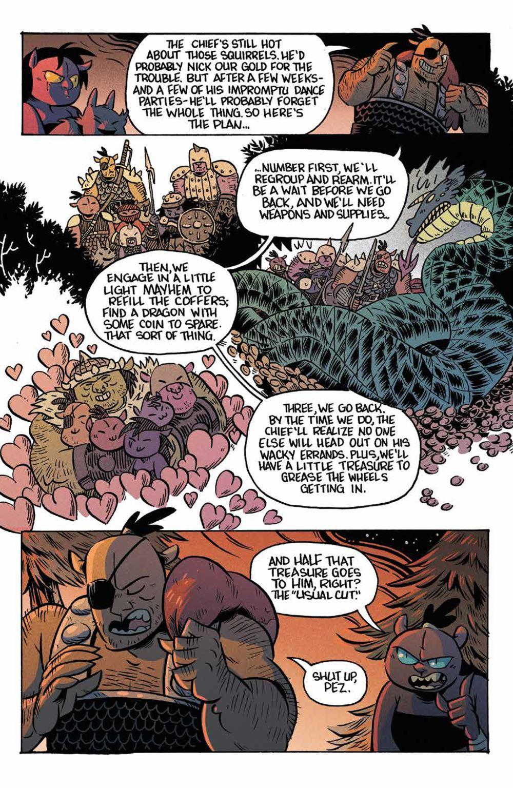Orcs_003_PRESS_6 ComicList Previews: ORCS #3 (OF 5)