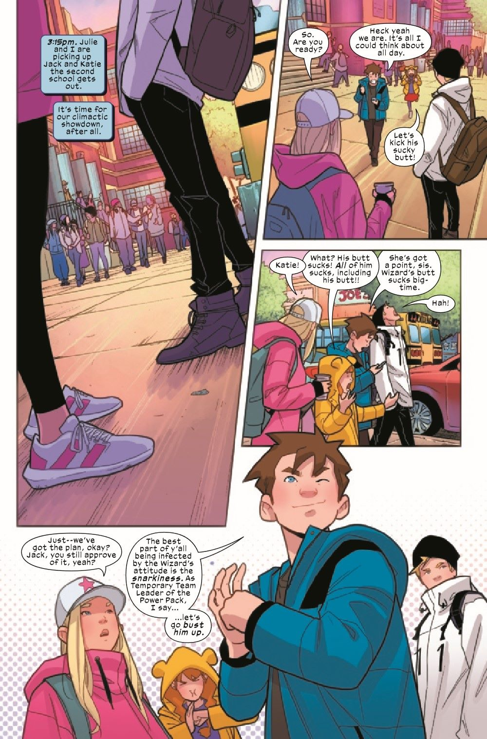 PWRPAC2020005_Preview-2 ComicList Previews: POWER PACK #5 (OF 5)
