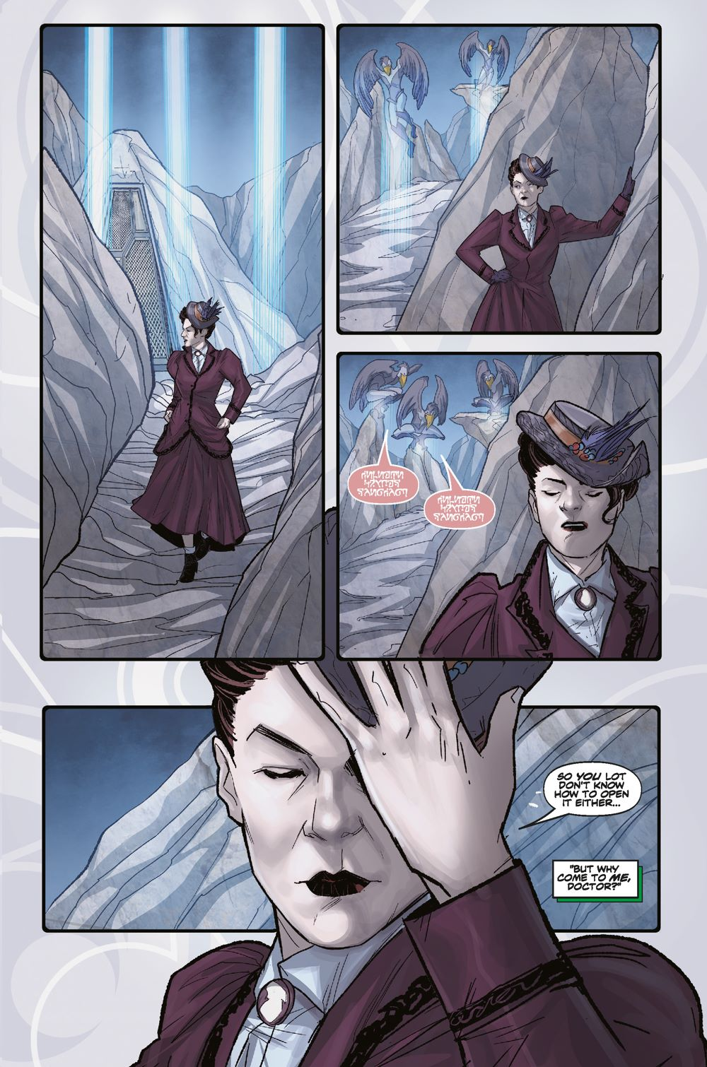 Pages-from-DW_Missy_1_INTERIORS_FINAL_Page_4 ComicList Previews: DOCTOR WHO MISSY #1