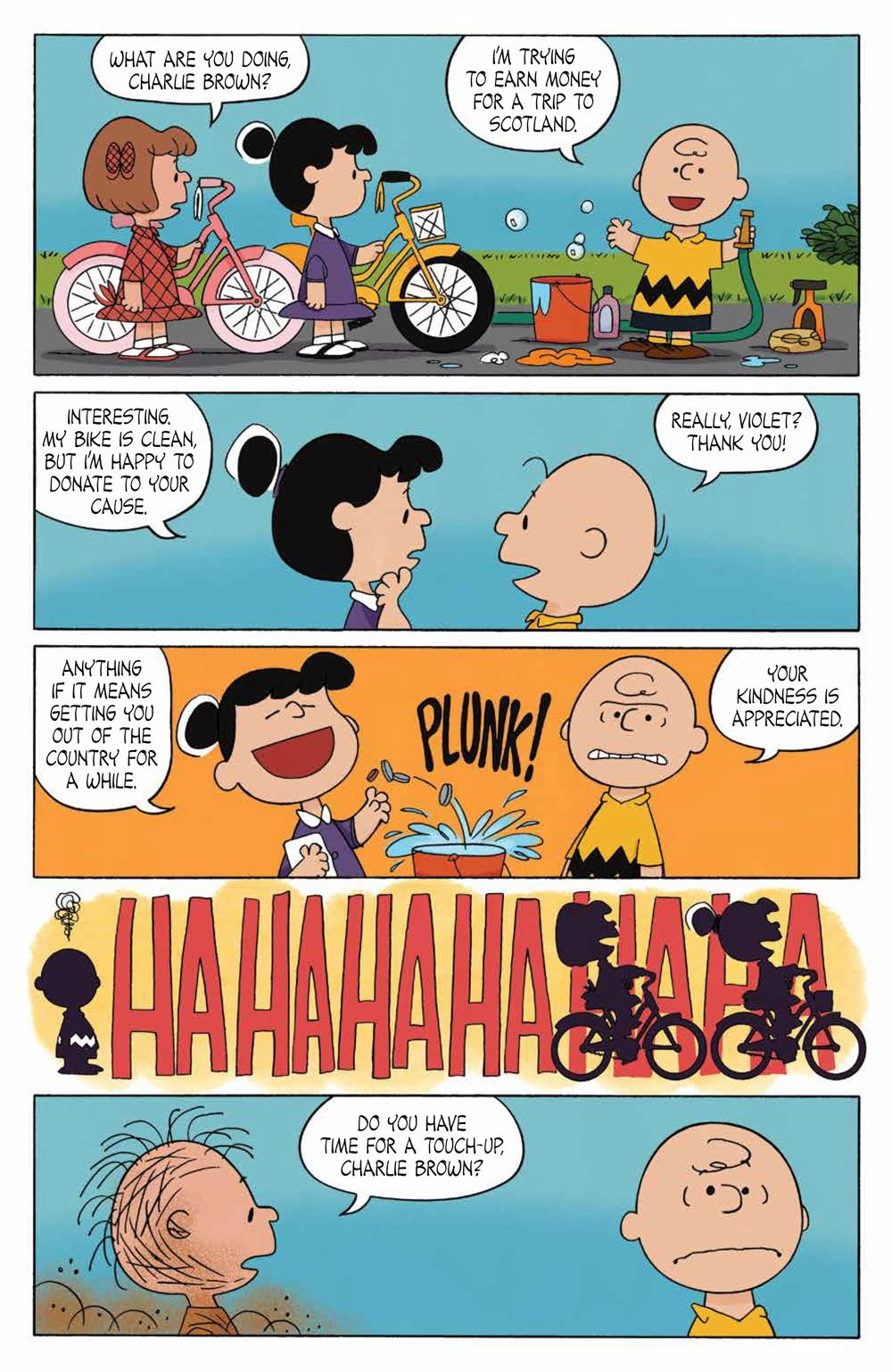 Peanuts_OGN_ScotlandBound_SC_PRESS_21 ComicList Previews: PEANUTS SCOTLAND BOUND CHARLIE BROWN GN
