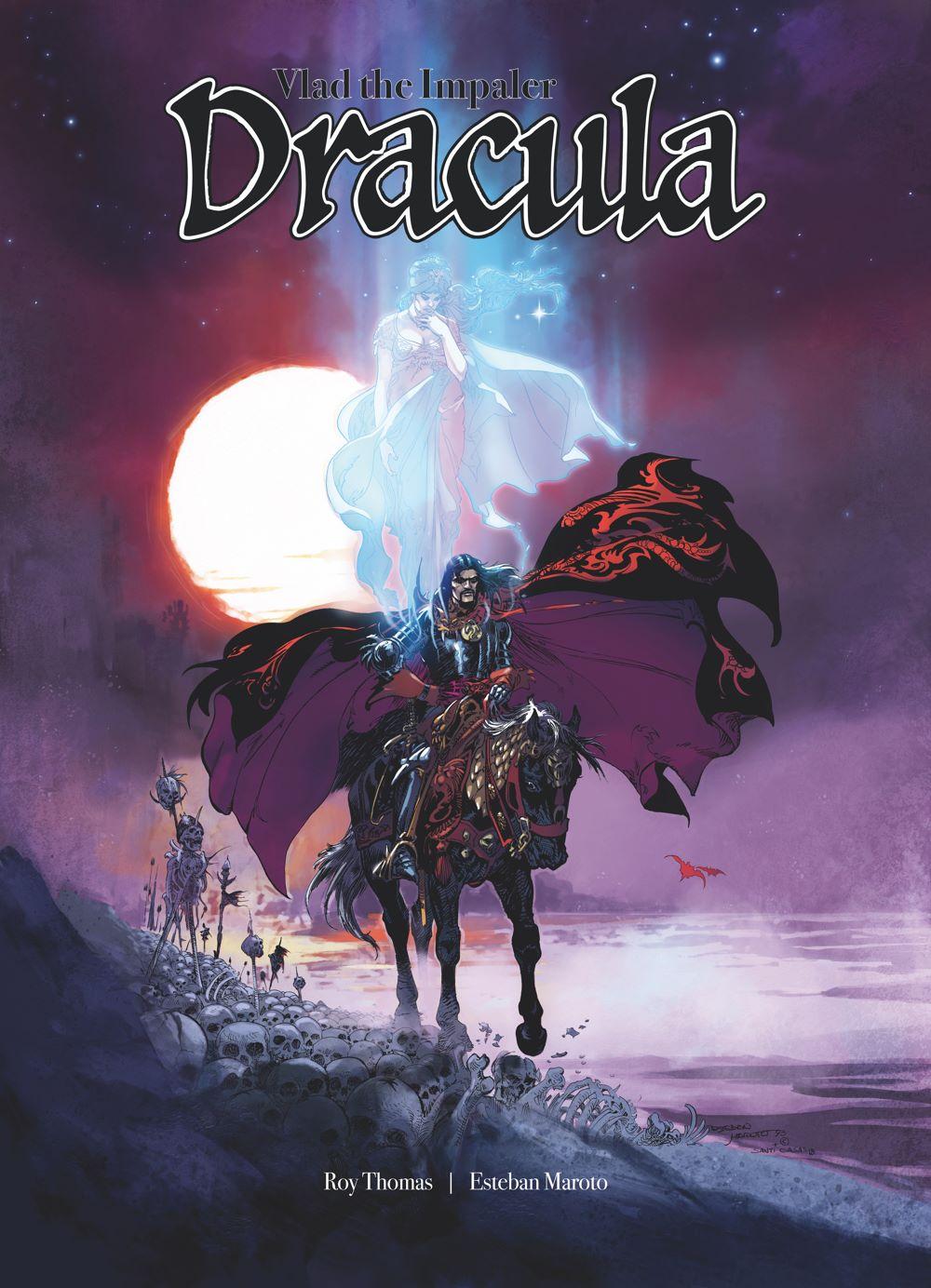 Portada_Dracula_COLOR_cmyk_400_CoverMock ComicList Previews: DRACULA VLAD THE IMPALER GN