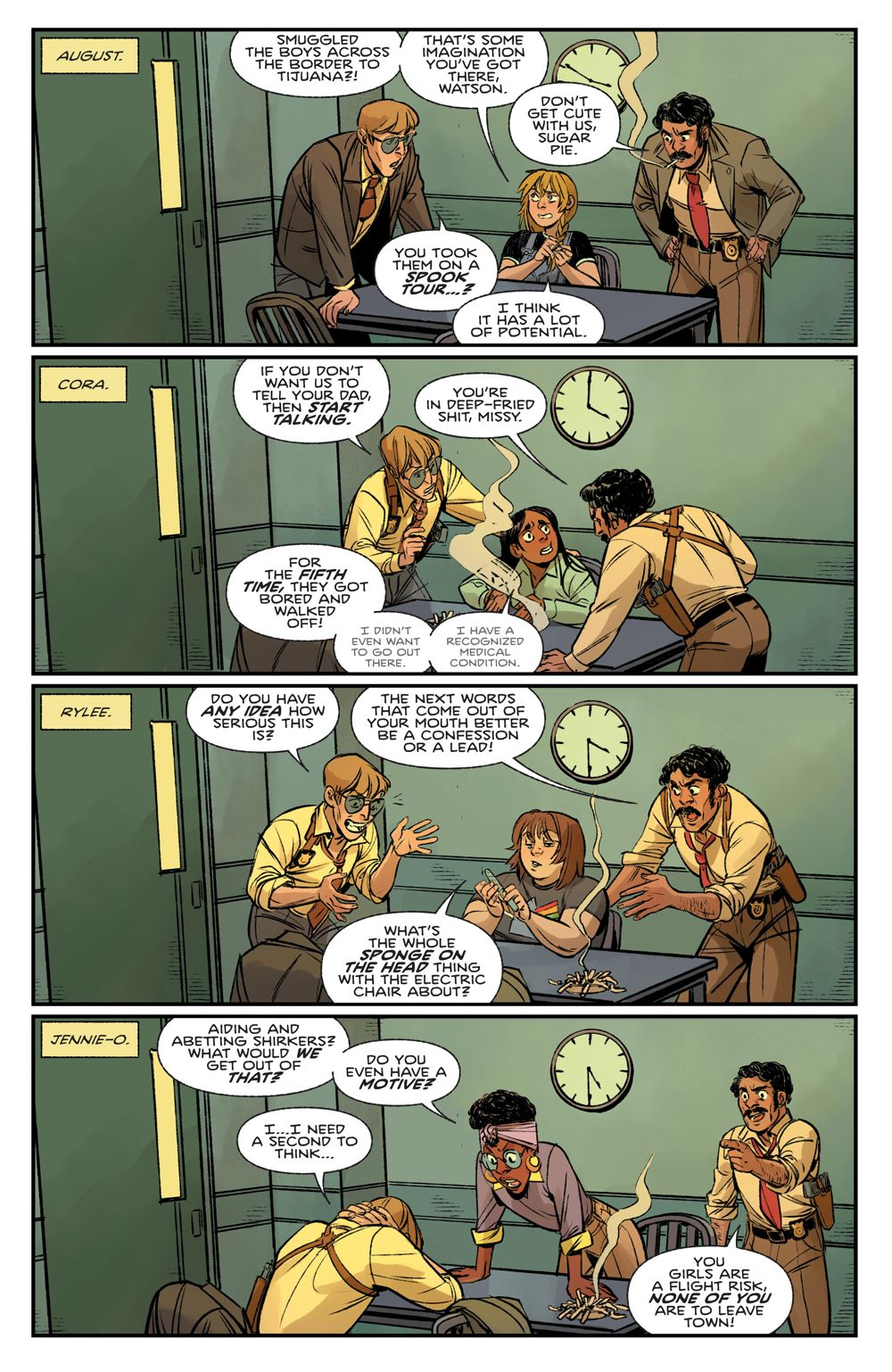 ProctorValleyRoad_002_PRESS_3 ComicList Previews: PROCTOR VALLEY ROAD #2 (OF 5)