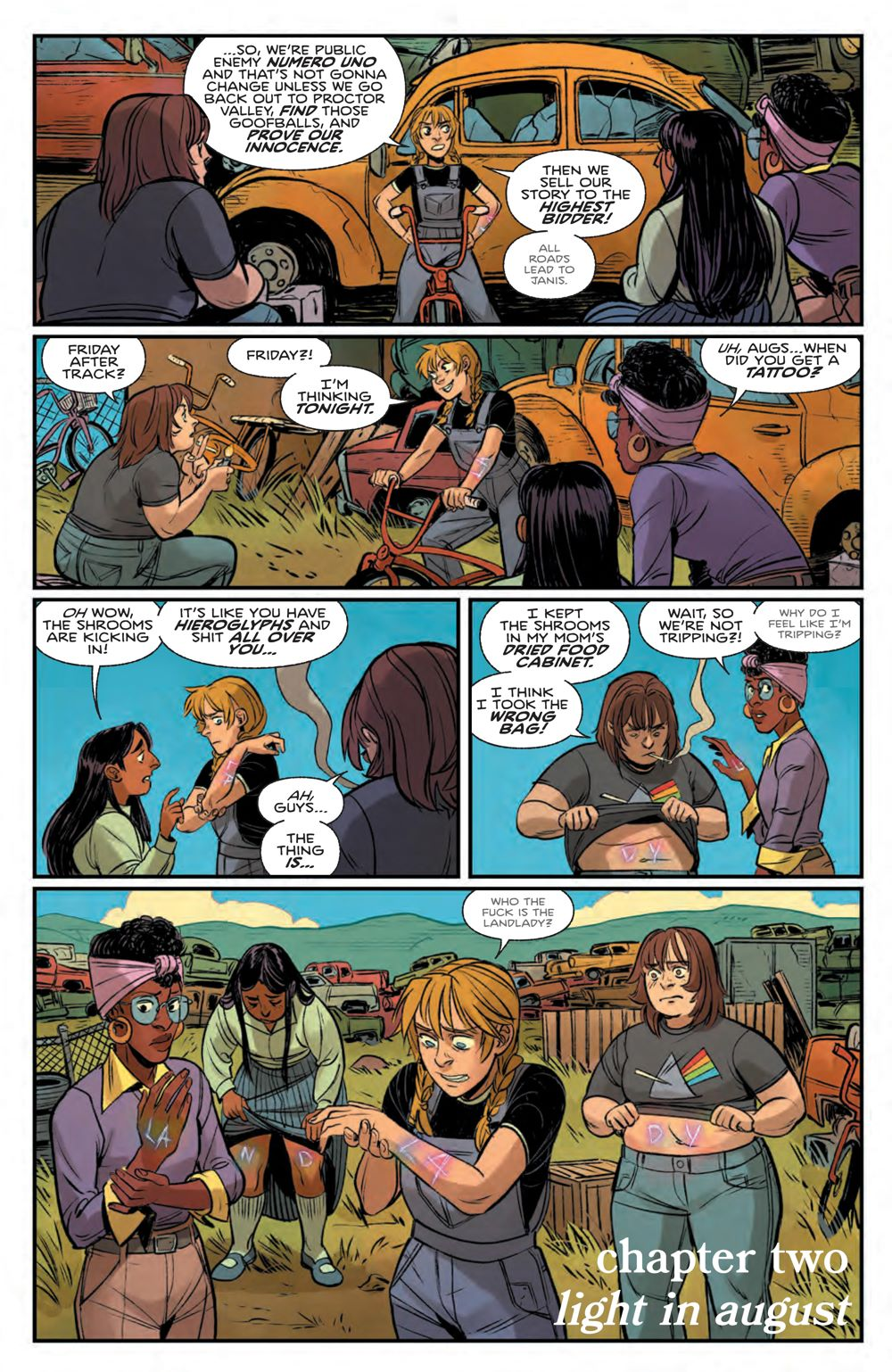 ProctorValleyRoad_002_PRESS_6 ComicList Previews: PROCTOR VALLEY ROAD #2 (OF 5)