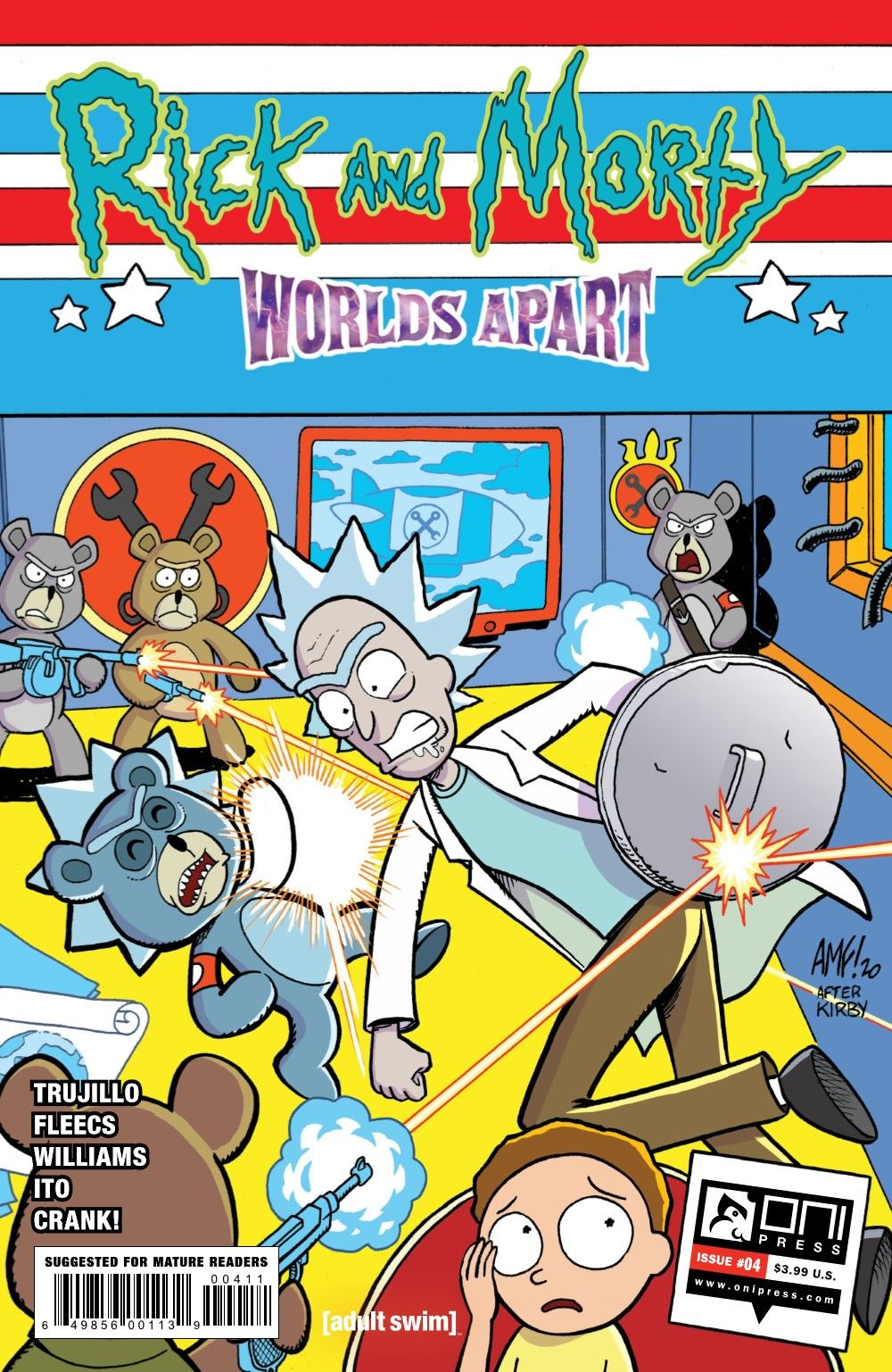 RICKMORTY-WORLDSAPART-4-REFERENCE-01 ComicList Previews: RICK AND MORTY WORLDS APART #4