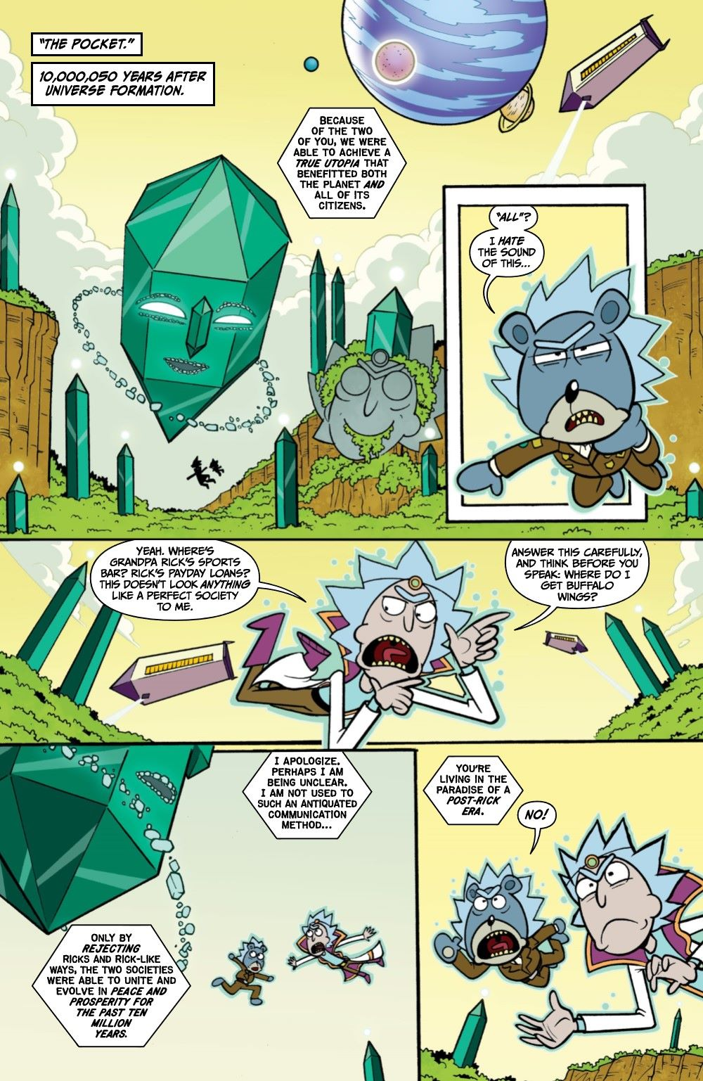 RICKMORTY-WORLDSAPART-4-REFERENCE-04 ComicList Previews: RICK AND MORTY WORLDS APART #4