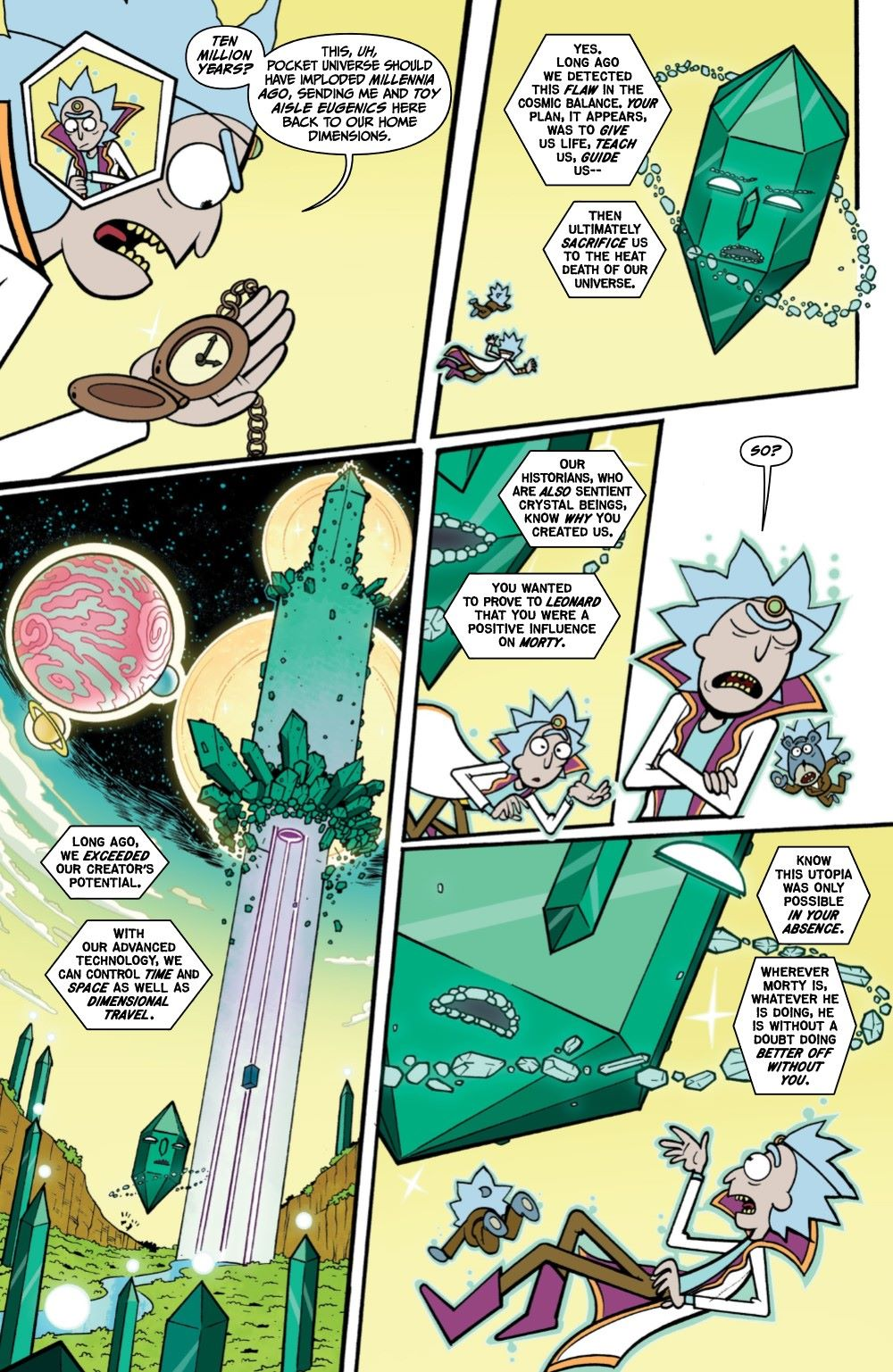 RICKMORTY-WORLDSAPART-4-REFERENCE-05 ComicList Previews: RICK AND MORTY WORLDS APART #4