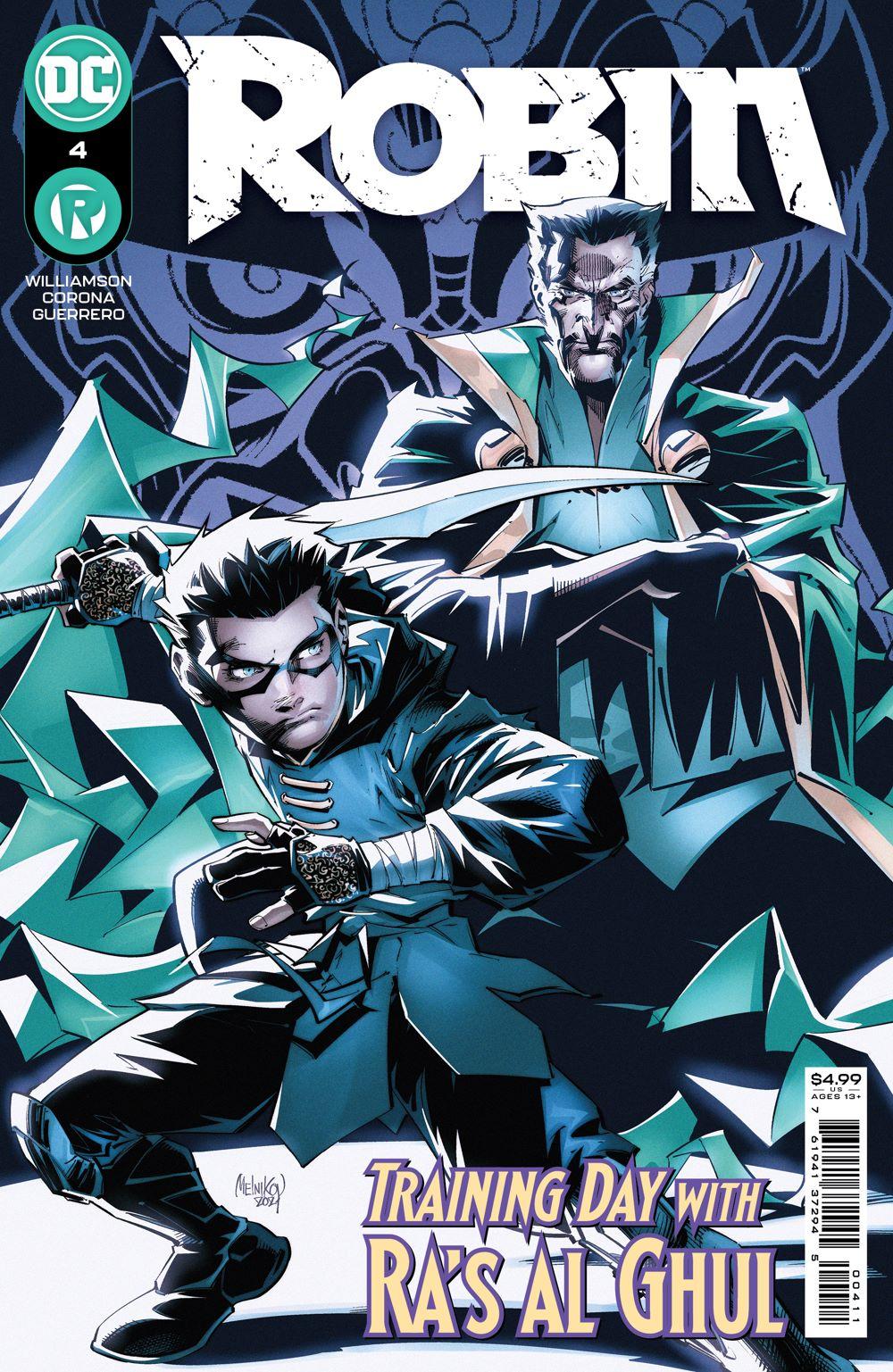 ROBIN_Cv4 DC Comics July 2021 Solicitations
