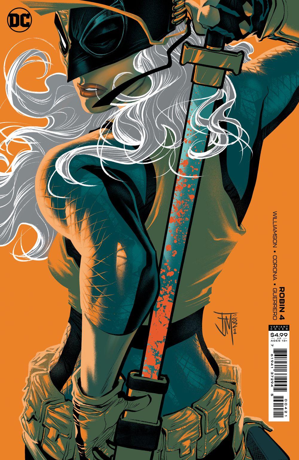 ROBIN_Cv4_var DC Comics July 2021 Solicitations