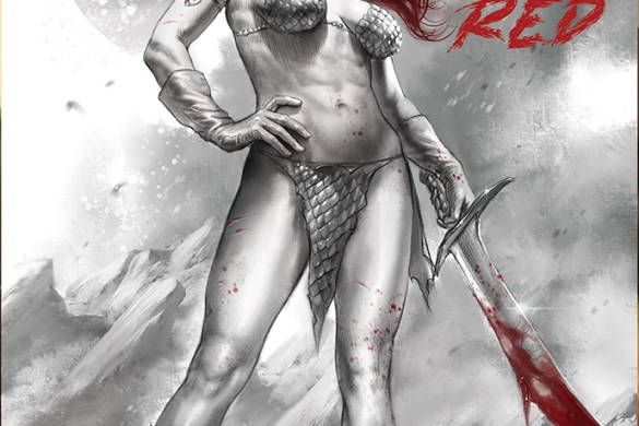 RSBWR-01-01011-A-Parrillo RED SONJA: BLACK, WHITE, RED to feature the finest talent