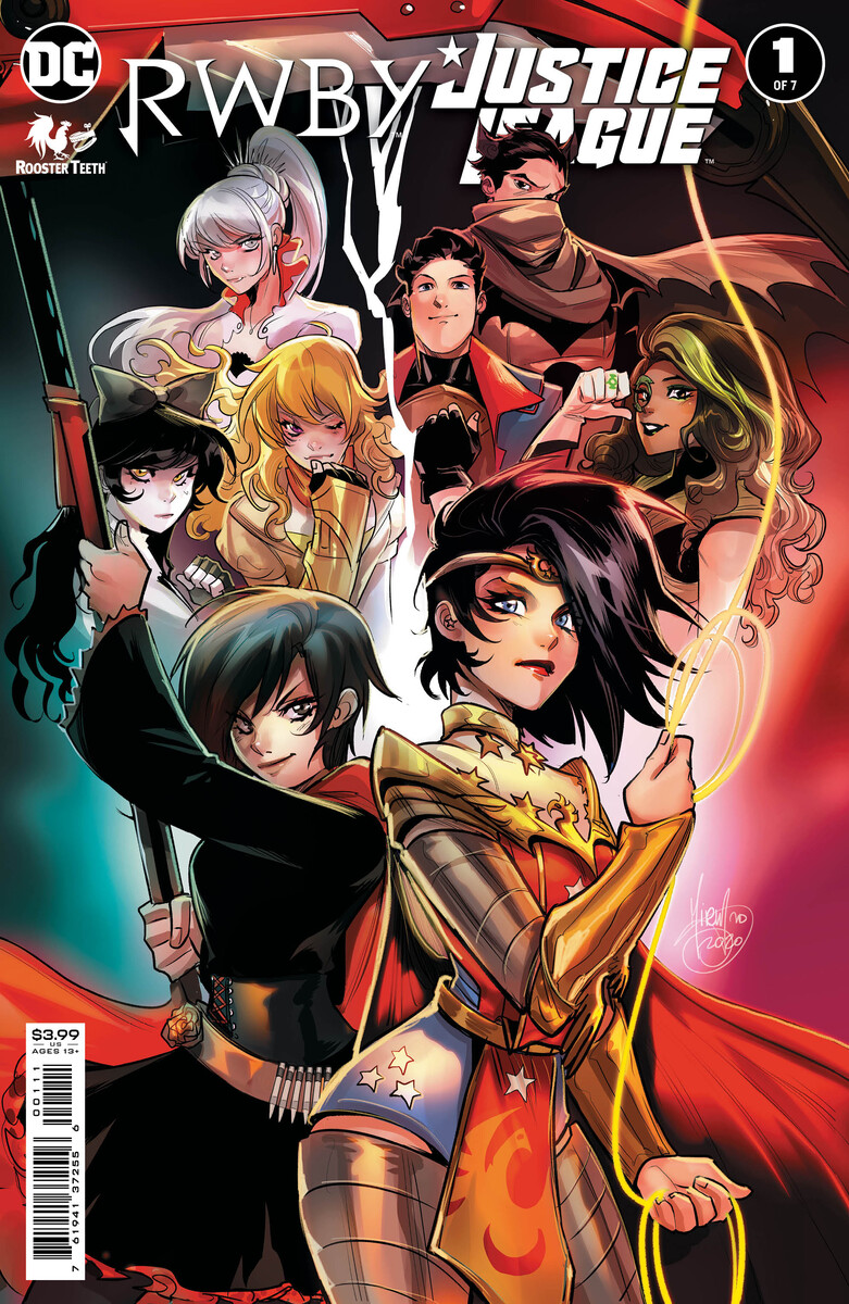 RWBYJL_Cv1_6001cfb27a5813.12606603 The Justice League and RWBY unite in new series