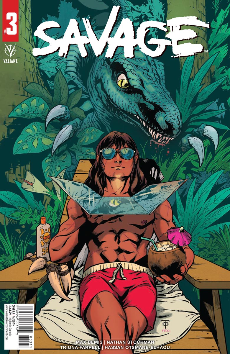 SAVAGE_3_COVER_A ComicList Previews: SAVAGE #3