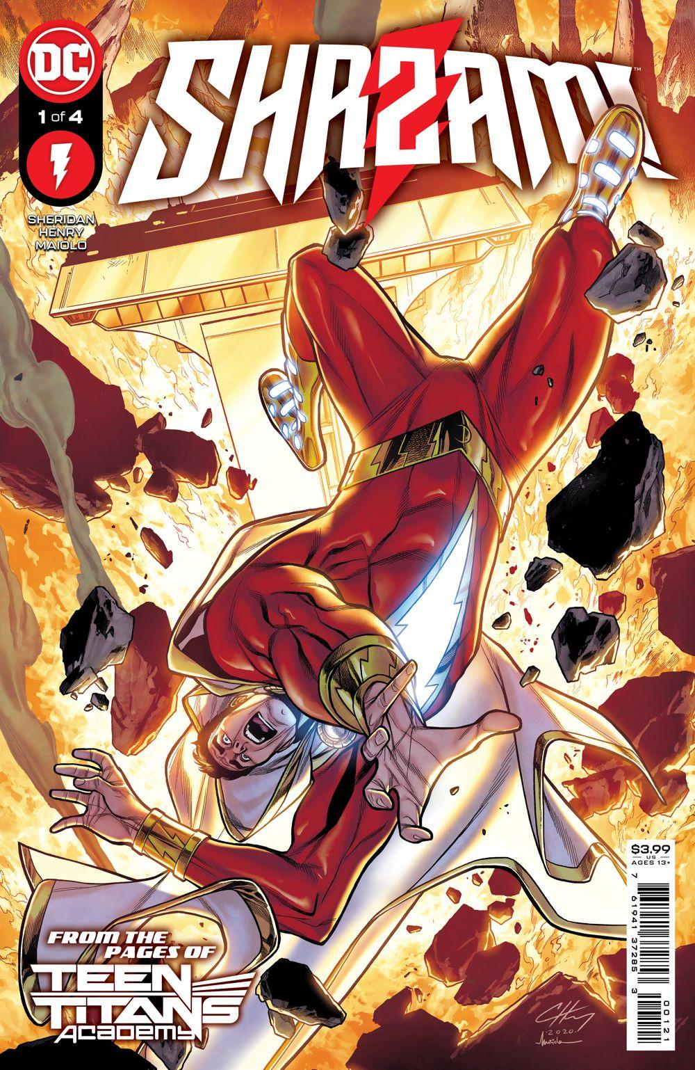 SHAZAM_Cv1 DC Comics July 2021 Solicitations