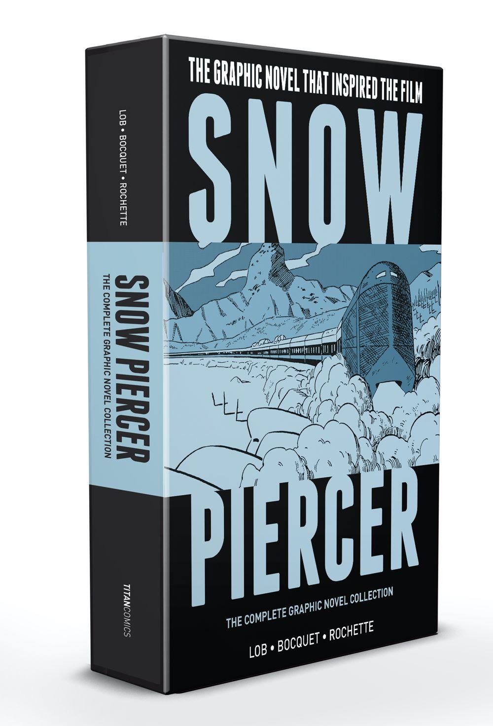 SNOWPIERCER-BOXED-SET Titan Comics July 2021 Solicitations