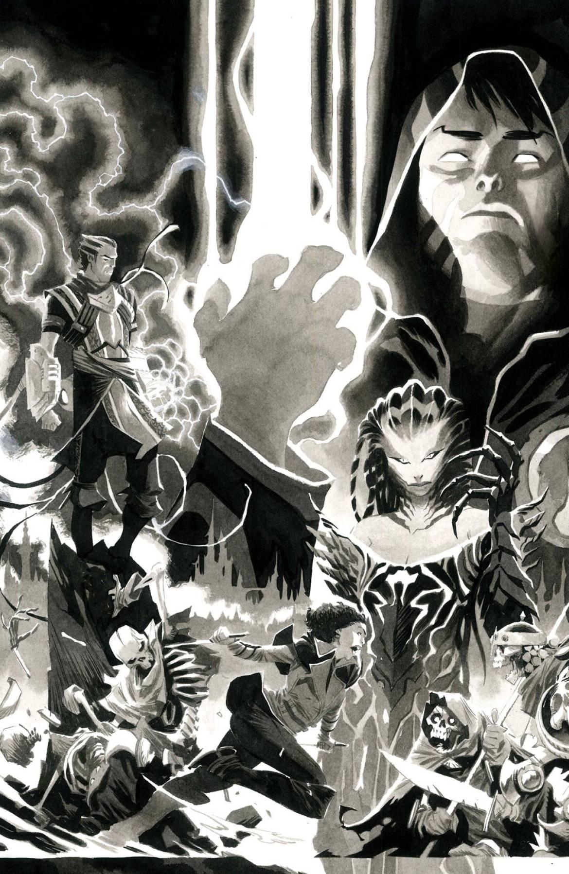 STL189402 ComicList Previews: MAGIC #1