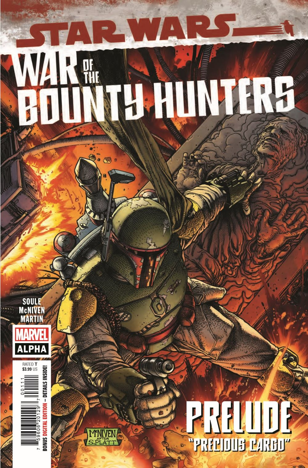 STWWAROTBHA2021001_Preview-1 ComicList Previews: STAR WARS WAR OF THE BOUNTY HUNTERS ALPHA #1