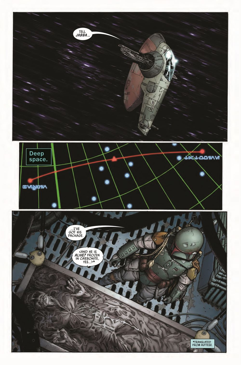 STWWAROTBHA2021001_Preview-3 ComicList Previews: STAR WARS WAR OF THE BOUNTY HUNTERS ALPHA #1