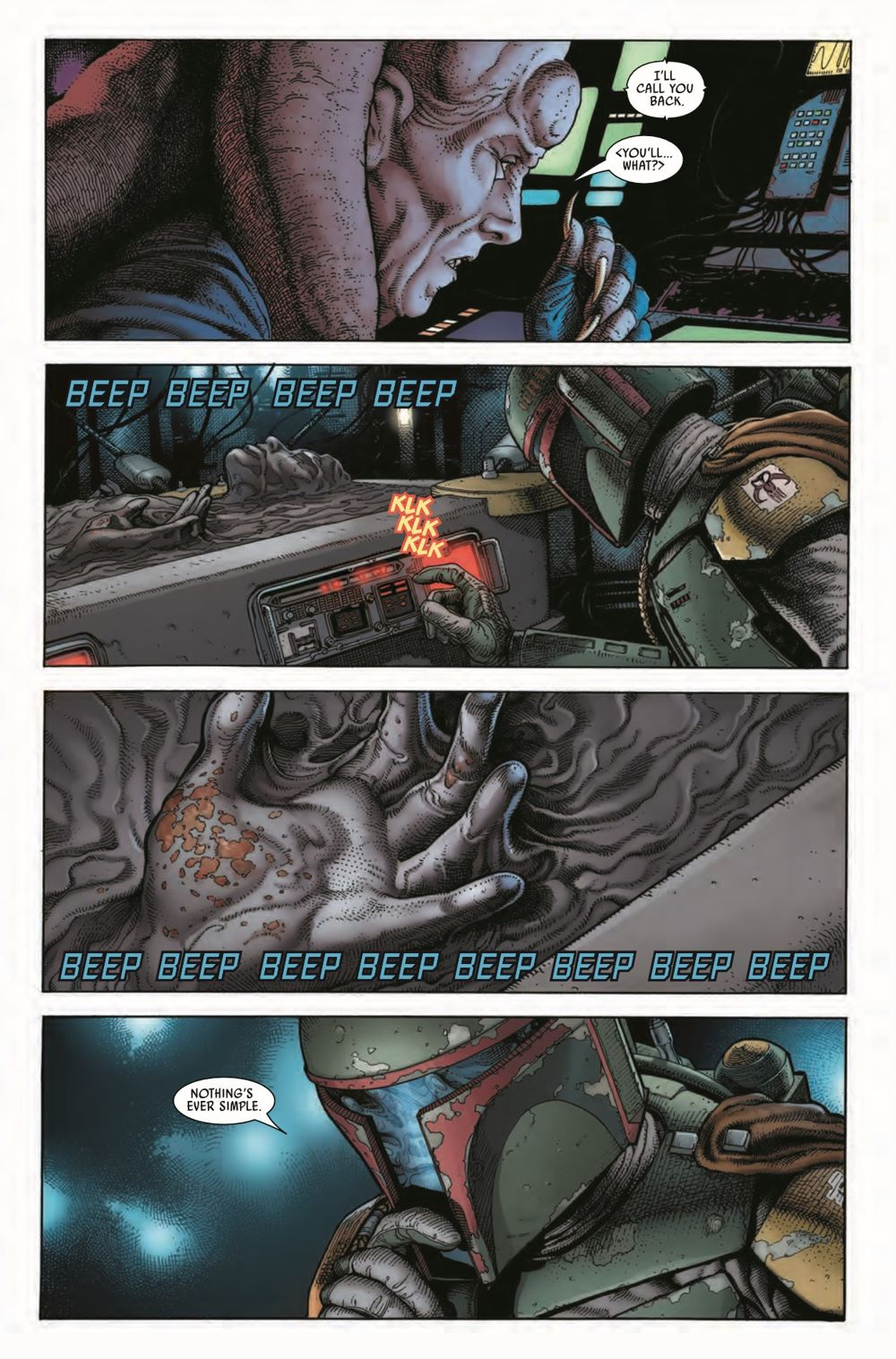 STWWAROTBHA2021001_Preview-5 ComicList Previews: STAR WARS WAR OF THE BOUNTY HUNTERS ALPHA #1