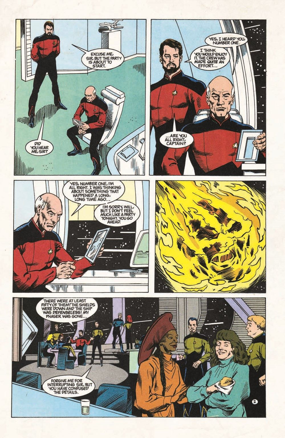 ST_TNG-TheGift-pr-4 ComicList Previews: STAR TREK THE NEXT GENERATION THE GIFT #1