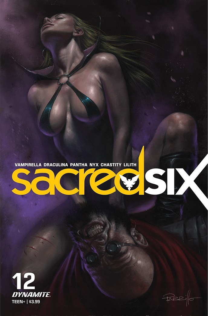 SacredSix-12-12011-A-Parrilo Dynamite Entertainment July 2021 Solicitations