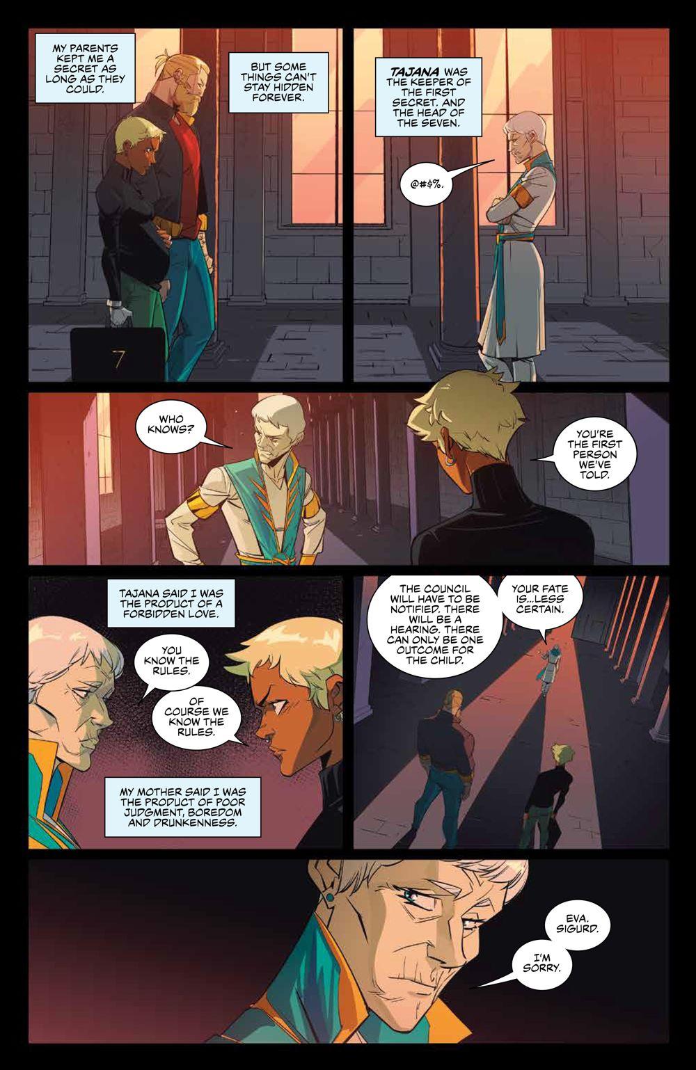 SevenSecrets_v1_SC_PRESS_17 ComicList Previews: SEVEN SECRETS VOLUME 1 TP