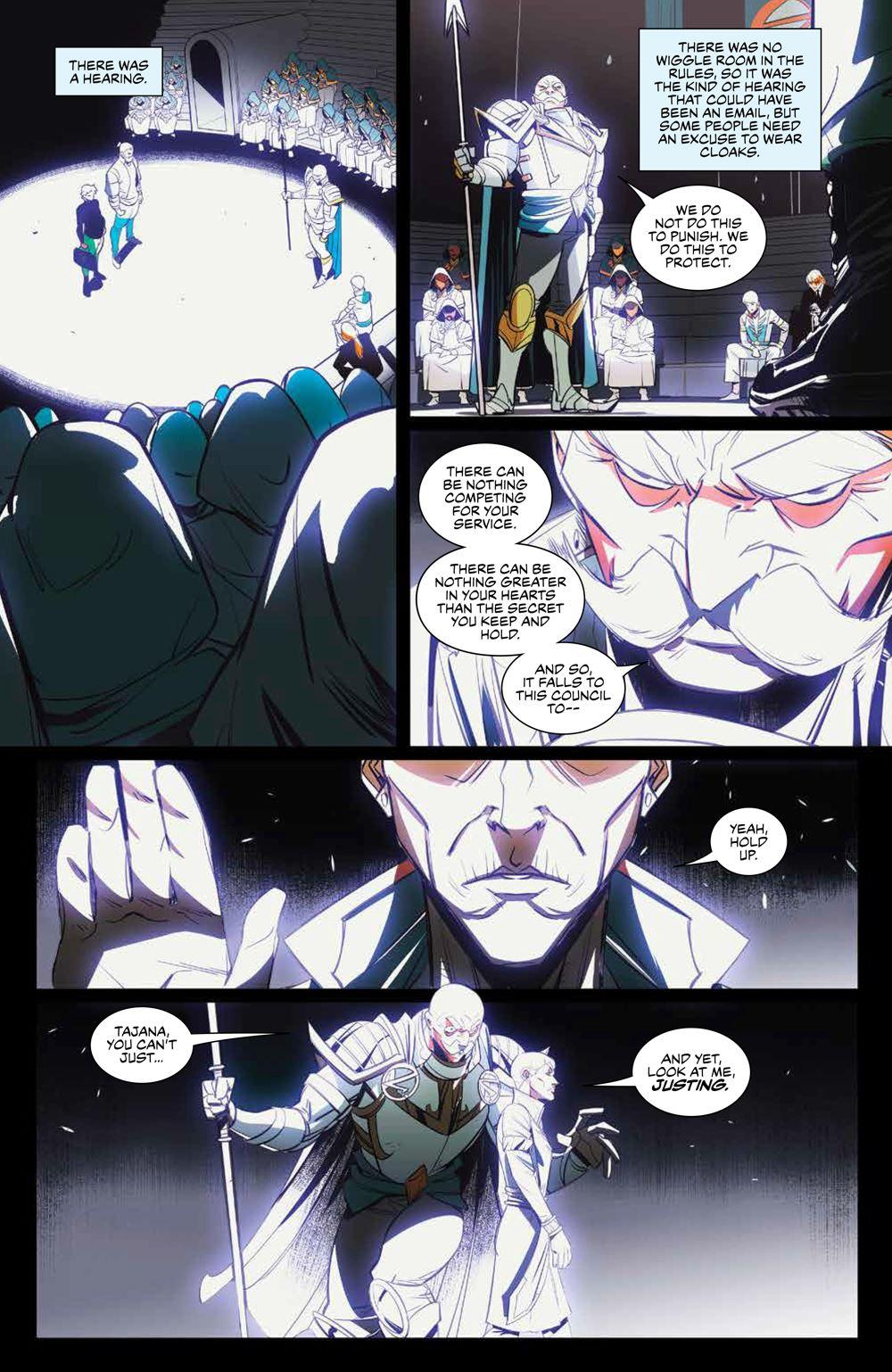 SevenSecrets_v1_SC_PRESS_18 ComicList Previews: SEVEN SECRETS VOLUME 1 TP