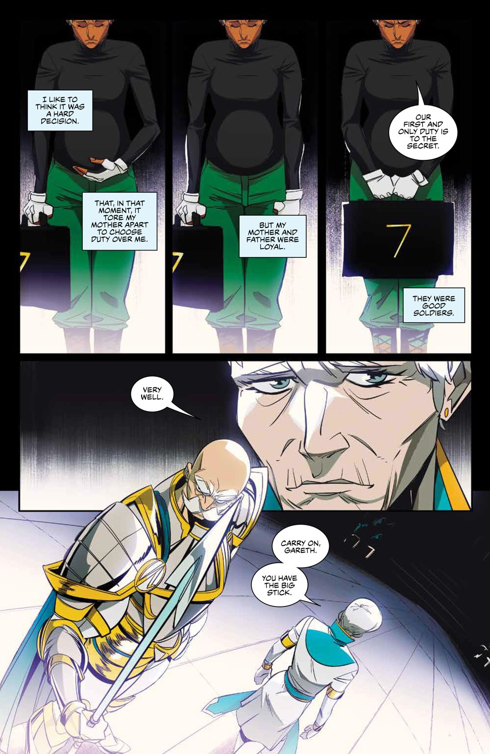 SevenSecrets_v1_SC_PRESS_20 ComicList Previews: SEVEN SECRETS VOLUME 1 TP