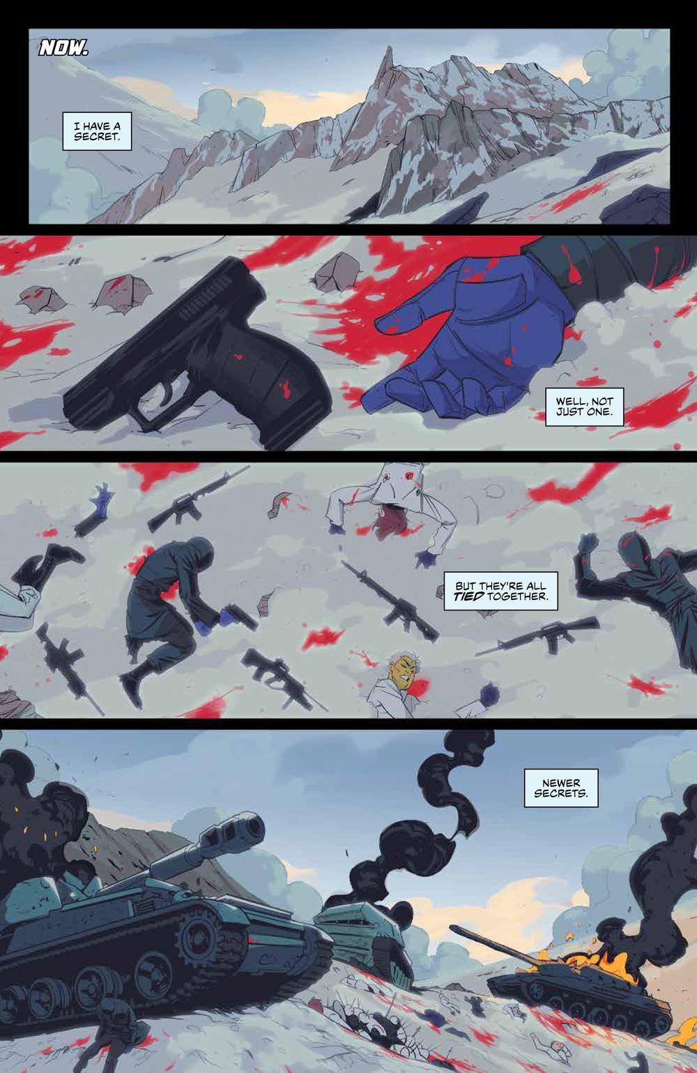 SevenSecrets_v1_SC_PRESS_7 ComicList Previews: SEVEN SECRETS VOLUME 1 TP