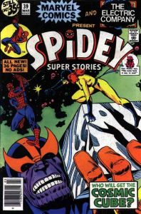 Spidey-Super-Stories-39-198x300 Comic Trends & the Oddball of the Week Award