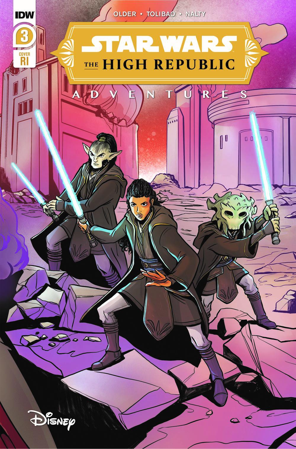 StarWarsHighRepublic-03-RI ComicList: IDW Publishing New Releases for 04/07/2021